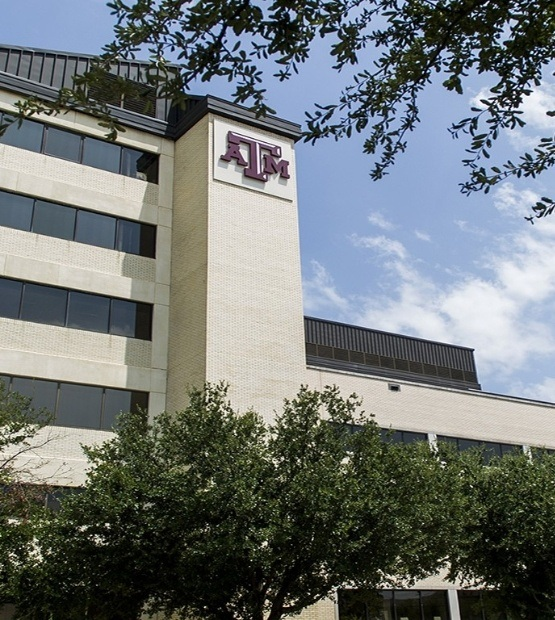 Texas A and M dental school building